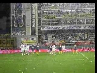 Match de foot a la Boca (Argentine)