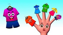 Finger Family 3D Nursery Rhymes Clothes Family | Finger Family Songs Childrens Songs HD