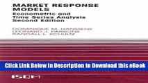 [Read Book] Market Response Models: Econometric and Time Series Analysis (International Series in