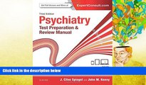 New Book Psychiatry Test Preparation and Review Manual, 3e