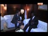 Le 1er Minsitre Ahoussou Jannot a reçu en audience le président de Bolloré Africa Logistic