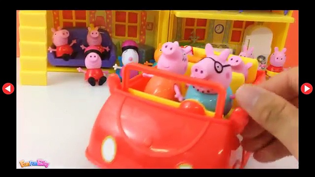 Peppa Pigs Family Party and Peppa Pigs All Characters