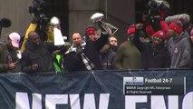 Bill Belichick Starts a 'No Days Off!' Chant During Super Bowl LI Victory Parade _ NFL-TCv4STkejlM