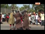 Pâques 2012 : Les chrétiens catholiques de Côte d'Ivoire se rappellent la passion du Christ