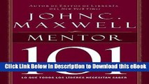 DOWNLOAD Mentor 101 (Spanish Edition) Kindle