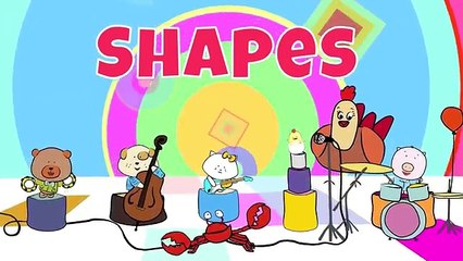 2D Shapes   Shape Songs   The Singing Walrus