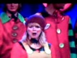 Mcfly on saturday night takeaway - dressed as elfs