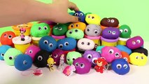 Play Doh Eggs Peppa Pig Angry Birds Mickey Mouse Disney Frozen Spiderman Superheroes Surprise Eggs