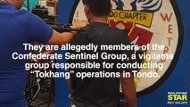 Exlusive: Vigillante group arrested in Tondo