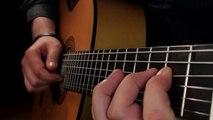 Reprise de « Careless Whisper » à la guitare