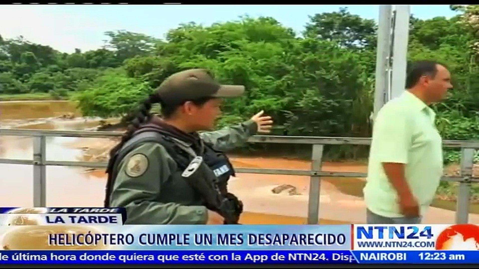 Asamblea Nacional venezolana investigará el caso del helicóptero desaparecido el 30 de diciembre en