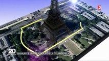 Tour Eiffel : un mur de verre autour de la Dame de fer