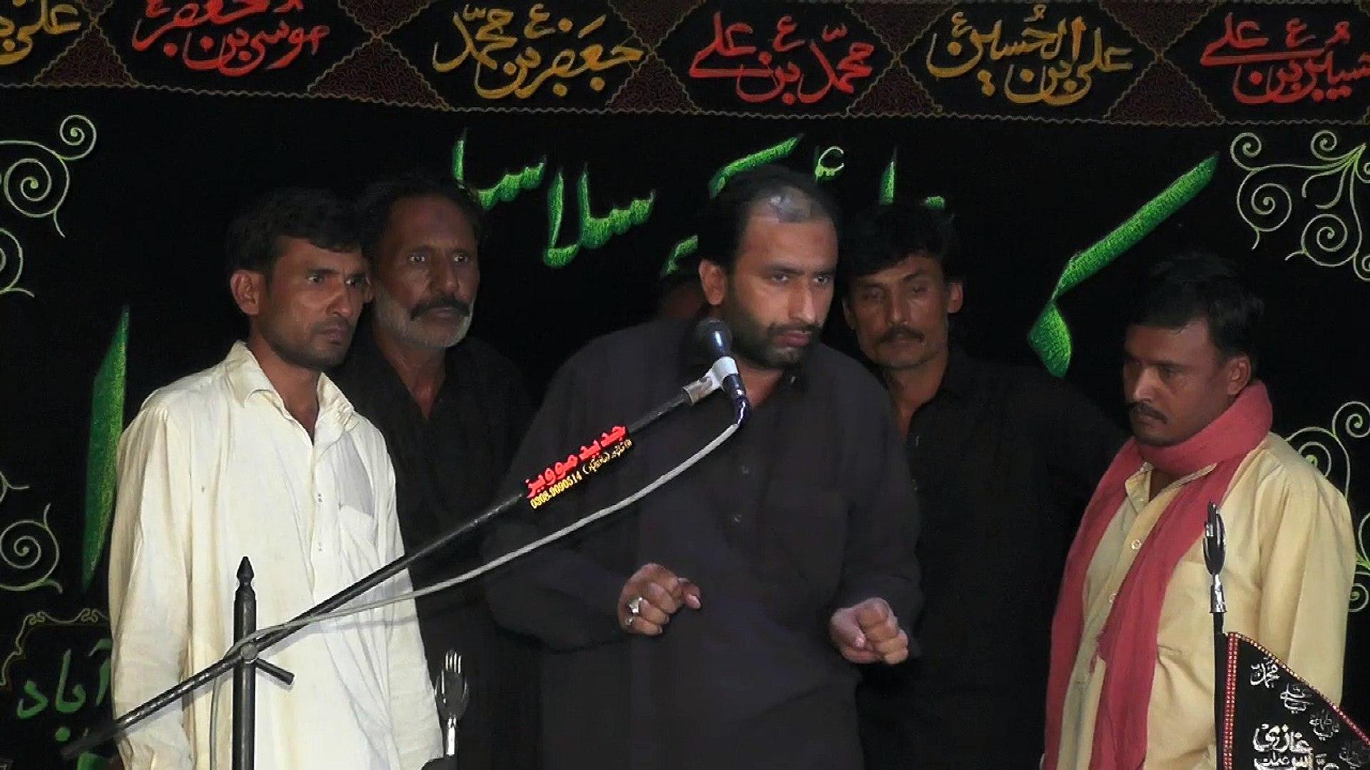 Zakir Rizwan Ahmed Gondal Bossal 20th Muhram 2016 Choti Behak Hafizabad