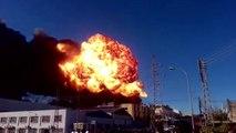 Une explosion s'est produite dans une usine de produits chimiques en Espagne