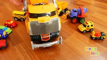 Wrecking Toy Dump Truck with Wrecking Ball
