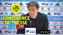 Conférence de presse Olympique de Marseille - EA Guingamp (2-0) : Rudi GARCIA (OM) - Antoine  KOMBOUARE (EAG) / 2016-17