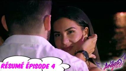 Les Anges 9  - Rivalités amoureuses dans la villa #épisode 4