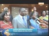 Visite de courtoisie des ministres issus du PDCI au Président henri Konan Bedié
