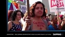 Argentine : des femmes se mobilisent contre l'interdiction des seins nus à la plage (Vidéo)