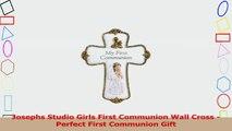 Josephs Studio Girls First Communion Wall Cross  Perfect First Communion Gift 67a51c22