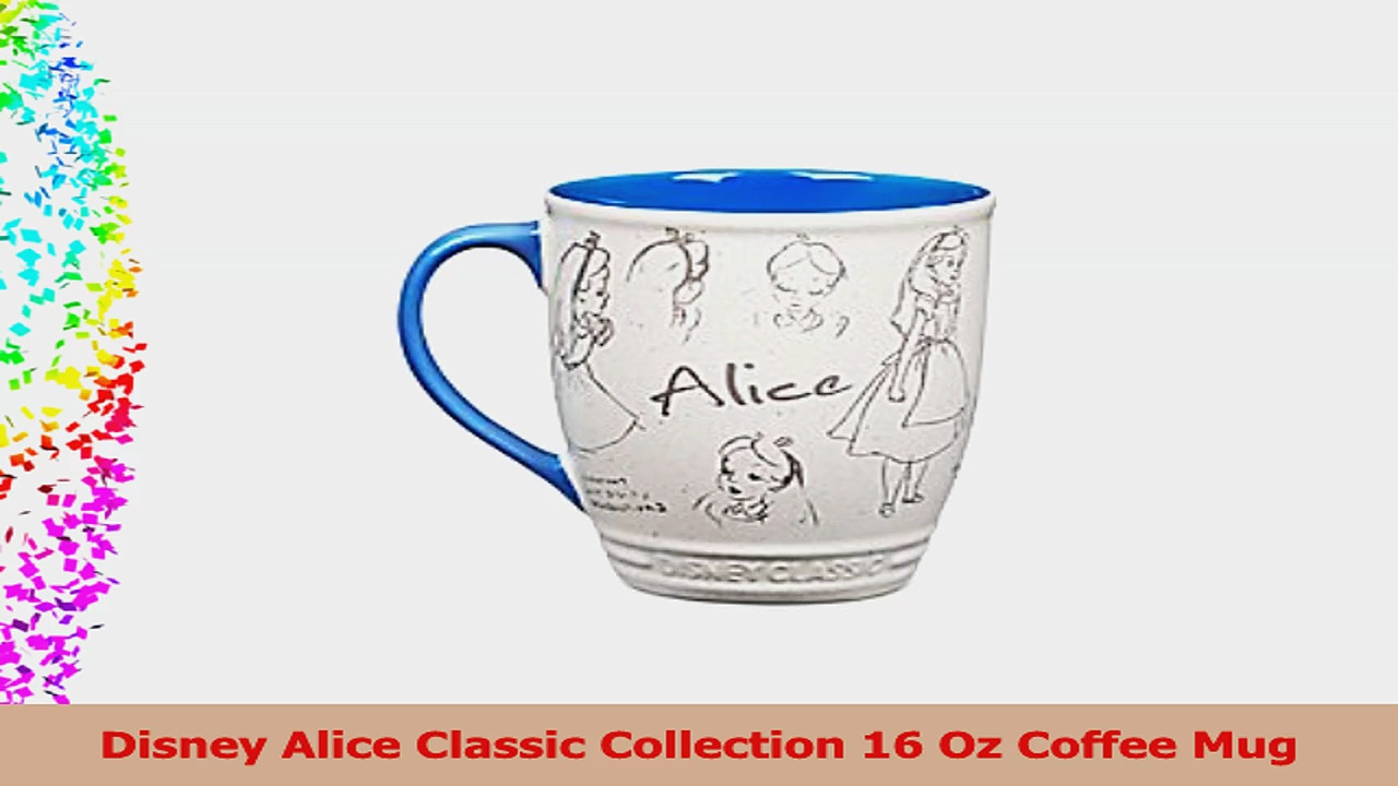 Disney Alice Classic Collection 16 Oz Coffee Mug efa37768