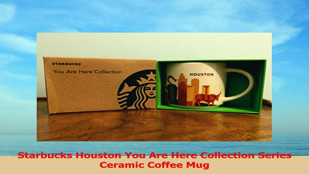 Starbucks Houston You Are Here Collection Series Ceramic Coffee Mug 8bb49557