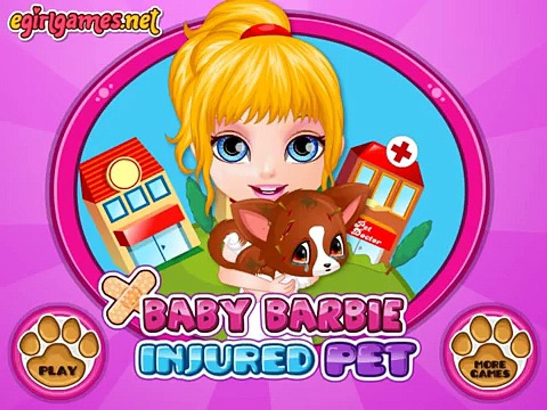 Baby Barbie Injured Pet - Baby Games Movie