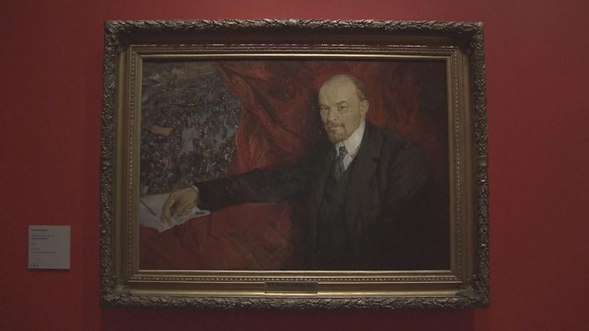 The Royal Academy in London marks 100th anniversary of Russian Revolution