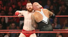 Cesaro & Sheamus Vs Gallows & Anderson Tag Team Match For WWE Tag Team Championship At WWE Raw