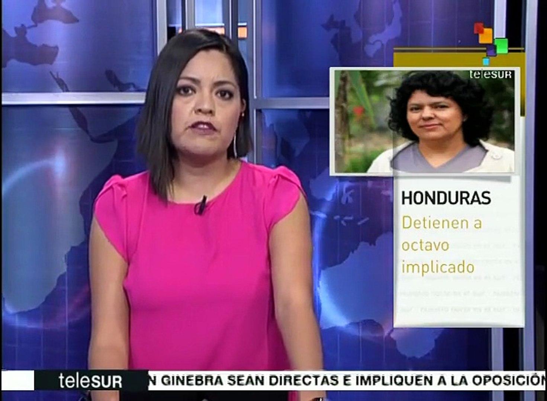 Arrestan a octavo implicado en asesinato de la líder Berta Cáceres