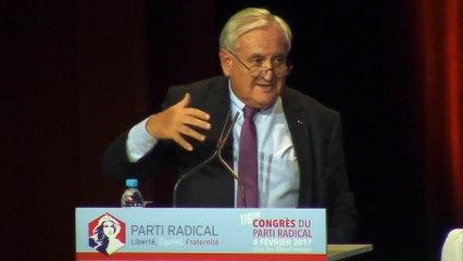 Discours de Jean-Pierre Raffarin - Ancien Premier Ministre - Sénateur de la Vienne - 116e CONGRES - 04 février 2017