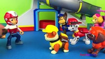 Paw Patrol Story Stop motion with Playdoh Play & Chase Marshall Rubble Skye Ryder and Zuma