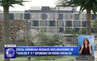 """Fiscal Chiriboga rechazó declaraciones de """"Carlos P. Y."""" difundido en redes sociales"""