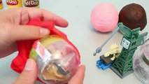 Surprise Eggs Play Doh Disney Cars, Frozen, Thomas Toy 플레이도우 서프라이즈 에그 와 뽀로로 폴리 타요 장난감 YouTube