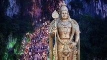 Più di un milione di indù al festival Thaipusam a Batu Caves
