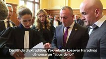 Le Kosovar Haradinaj dénonce un «abus de loi»
