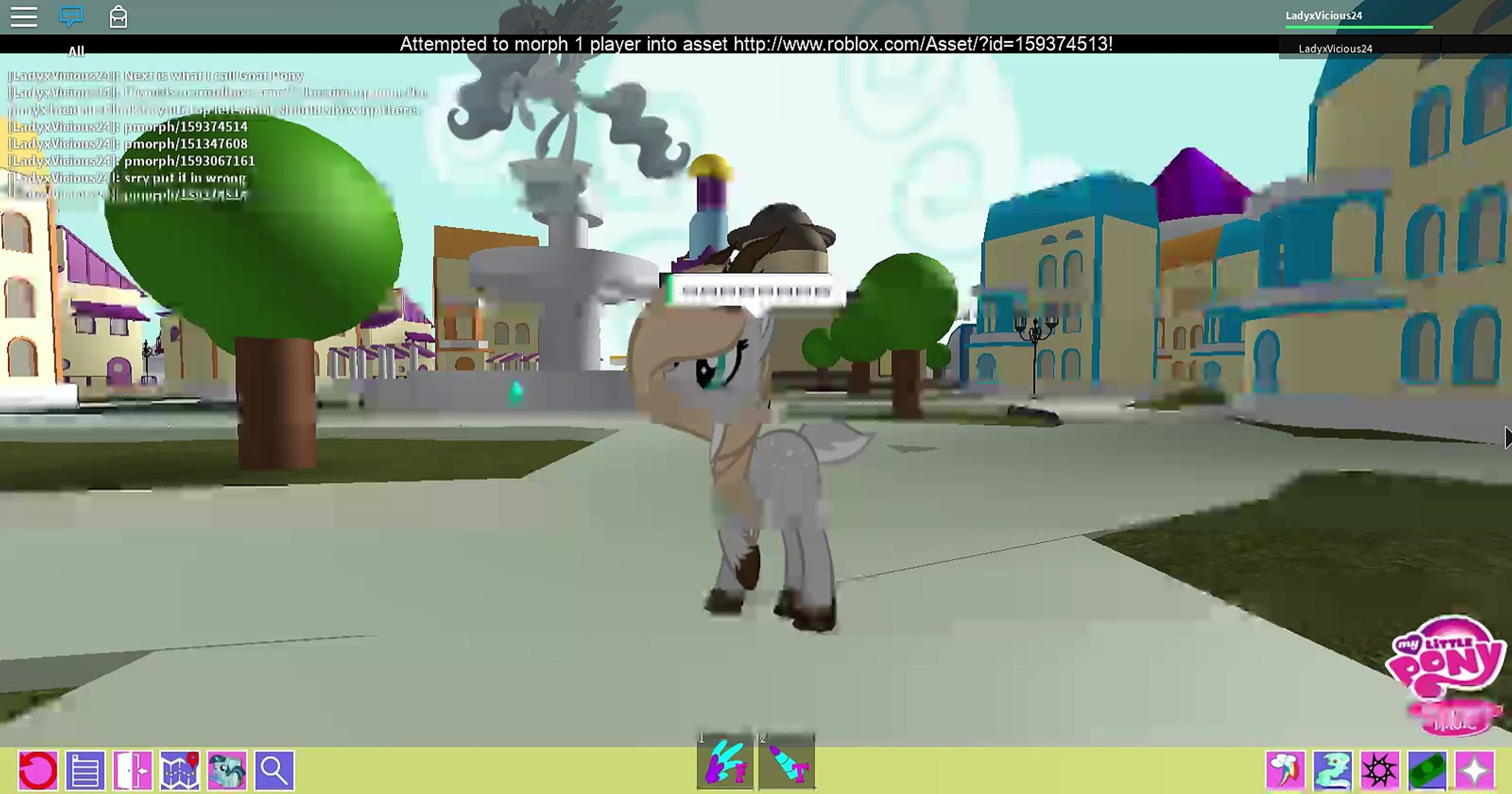 Morph Ids For Roblox Mlp Friendship Is Magic Morph Codes On Roblox Video Dailymotion
