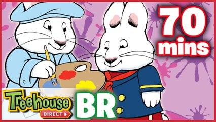 Max E Ruby Episódios Para Crianças - Artes e Ofícios Compilação De 70 mins