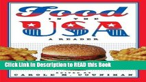 Read Book Food in the USA: A Reader ePub Online