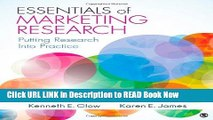 [Popular Books] Essentials of Marketing Research: Putting Research Into Practice FULL eBook