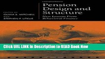 [Popular Books] Pension Design and Structure: New Lessons from Behavioral Finance (Pension