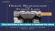 [Read Book] Hotel, Restaurant, and Travel Law, 7th Edition Mobi