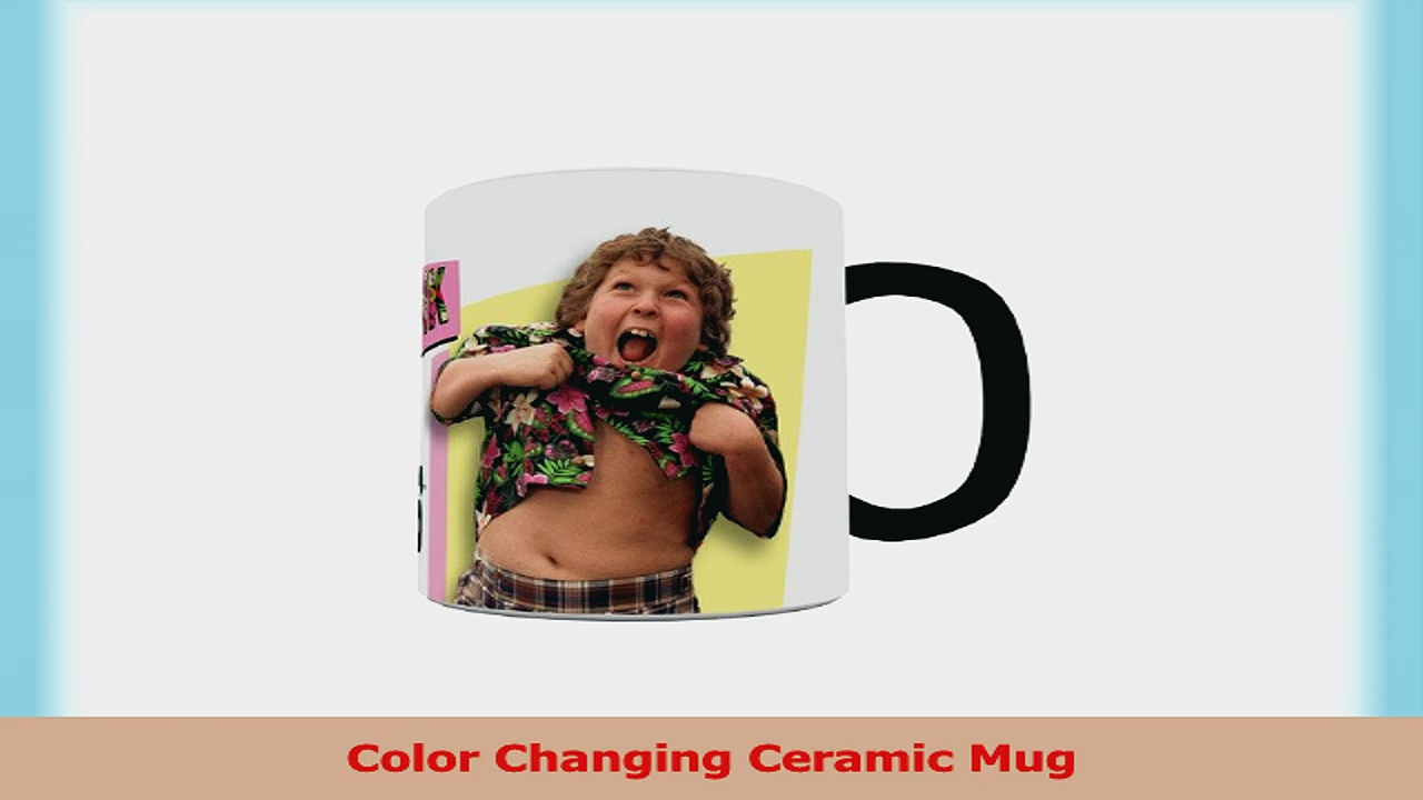 Morphing Mugs Goonies 80s Retro Ceramic Mug Black f6df27fa