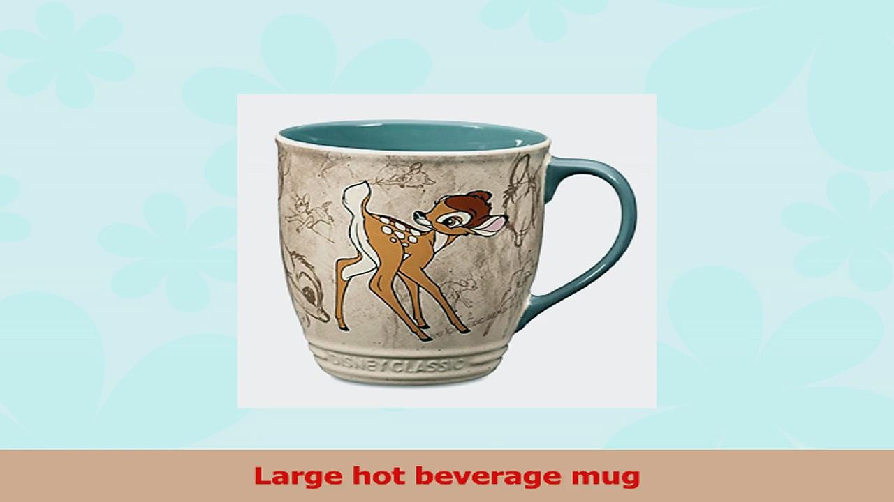 Disney Store Bambi Coffee Mug Cup 984b6048