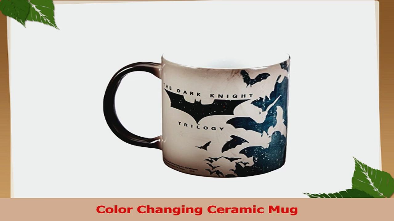 Morphing Mugs Batman Dark Knight Trilogy Batman Bats Ceramic Mug Black a67dd984