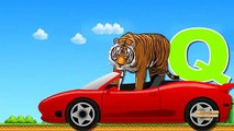 Tiger Cartoon Learning ABC Song For Children | Learn ABC Alphabets | Tiger ABC S