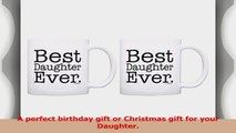 Daughter Gifts Best Daughter Ever Fun Birthday Christmas Gift 2 Pack Gift Coffee Mugs Tea e68b183d