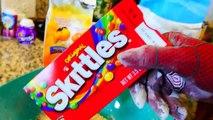 SPIDERMAN vs BATMAN Get Fat From Eating Gross Slime Homemade Cookies   SUPERHEROES IN REAL LIFE