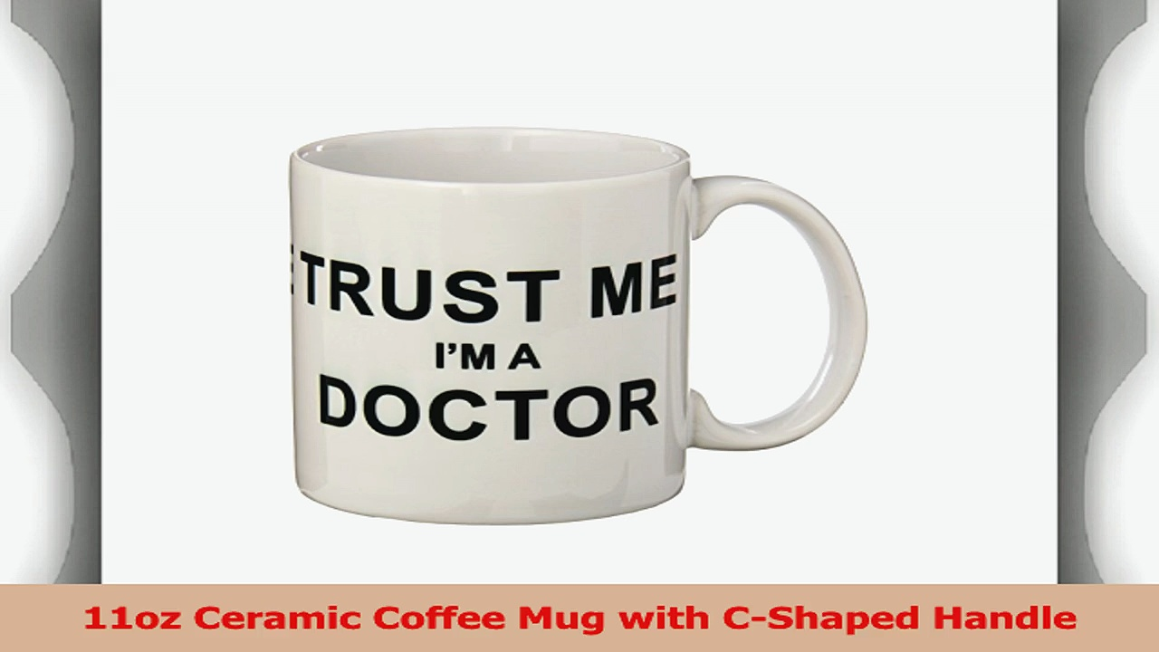 Rikki Knight Trust Me Im a Doctor Ceramic Coffee Mug 11 oz White ced9346c