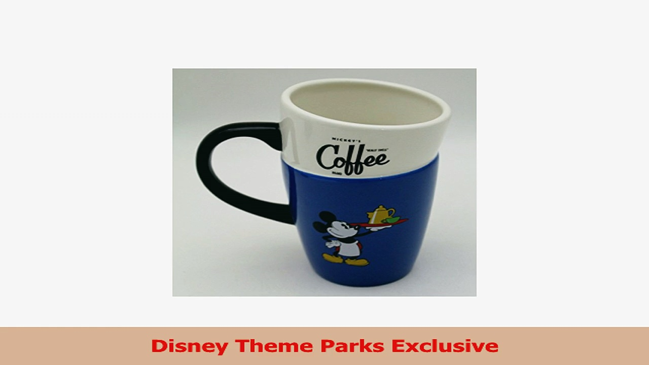 Disney Theme Parks Exclusive Mickey Mouses Really Swell Stacked Coffee Mug Cup 8cc35451